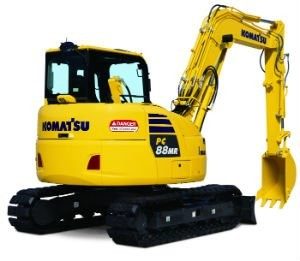 Komatsu America Corp. Launches New PC88MR-10 Hydraulic Excavator