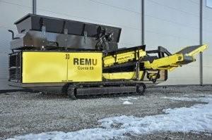 Combi E8 screening plant designed for North America