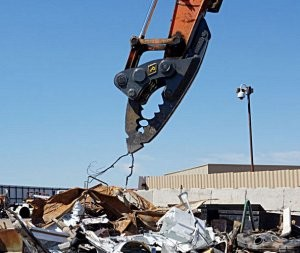 Power Picker sorting and recycling tool for excavators updated