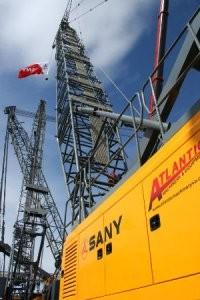 Sany SCC8150 165-Ton Crawler Crane