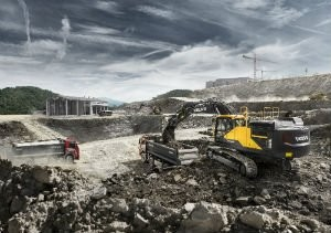 Volvo EC380E is a heavy hitter in tough conditions