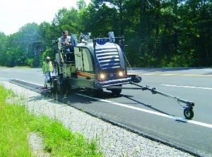 Improved Rumble Strip Cutter Boasts Tier 4 Interim Emissions Controls