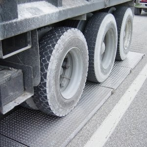 Axle Scale Systems available with integrated wireless weighing technology