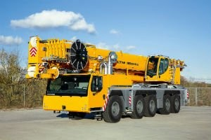 Liebherr's new LTM 1160-5.2  five-axle Mobile Crane