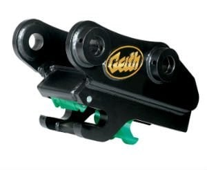 Geith G3 quick coupler provides fully automatic, double locking attachment system
