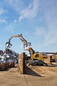 New Liebherr Material Handlers the LH 40 M and LH 60 C
