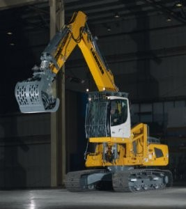 The Liebherr R 924 Crawler Excavator for Waste and Recycling Applications