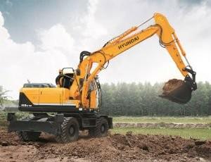 Hyundai Construction Equipment Launches New R140/180/210W-9A Wheeled Excavators