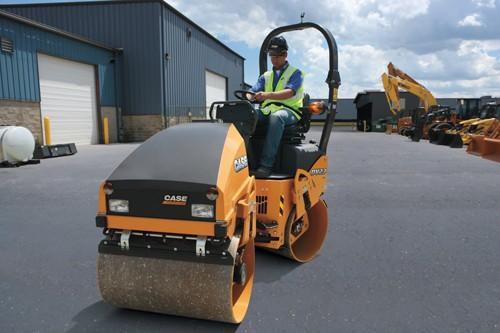 CASE Construction Equipment - DV23 Tandem Asphalt Rollers