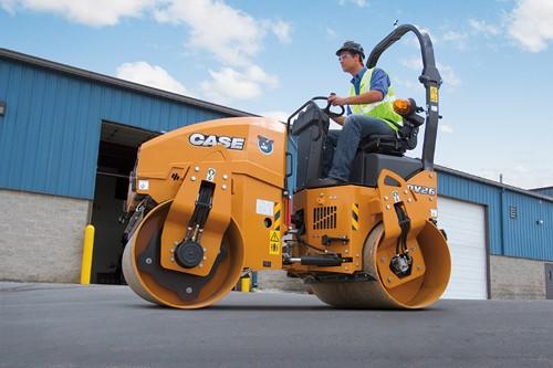CASE Construction Equipment - DV26 Tandem Asphalt Rollers