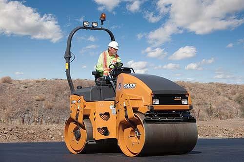 CASE Construction Equipment - DV45 Tandem Asphalt Rollers