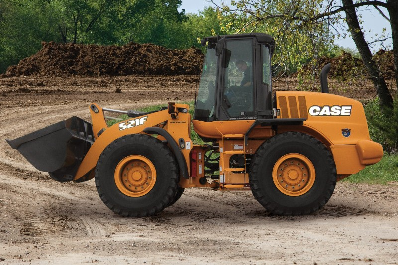 Case Construction Equipment - 521F Wheel Loaders