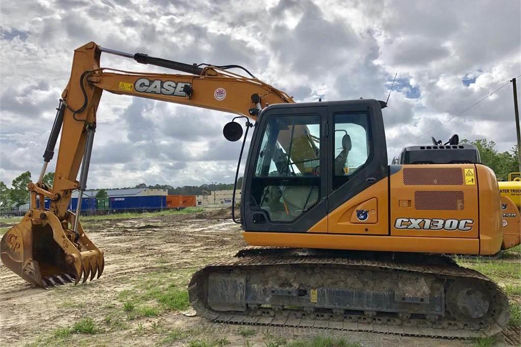 CASE Construction Equipment - CX130C Excavators
