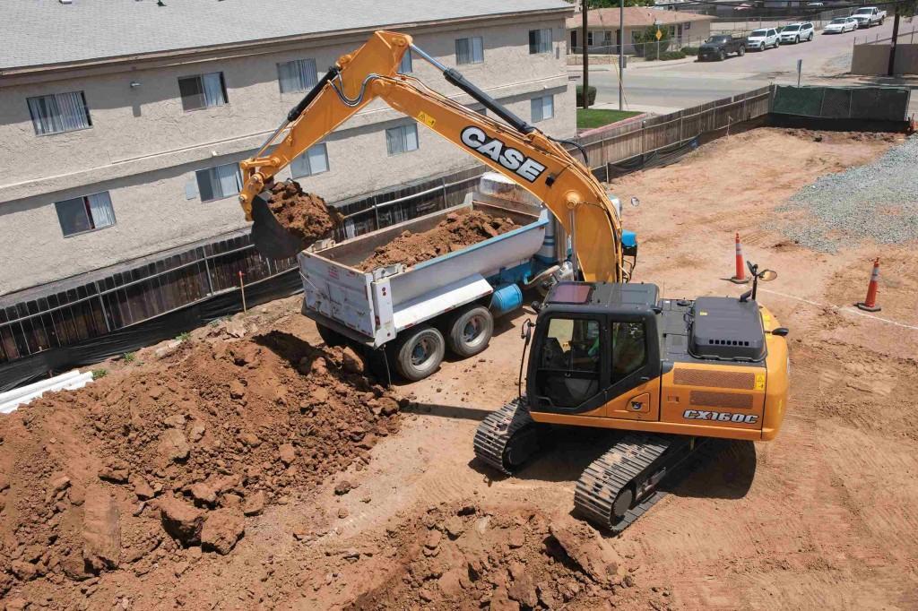 CASE Construction Equipment - CX160C Excavators