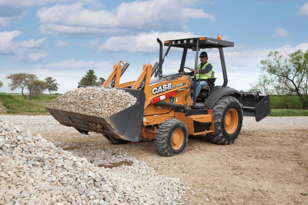 CASE Construction Equipment - 570N XT Wheel Loaders
