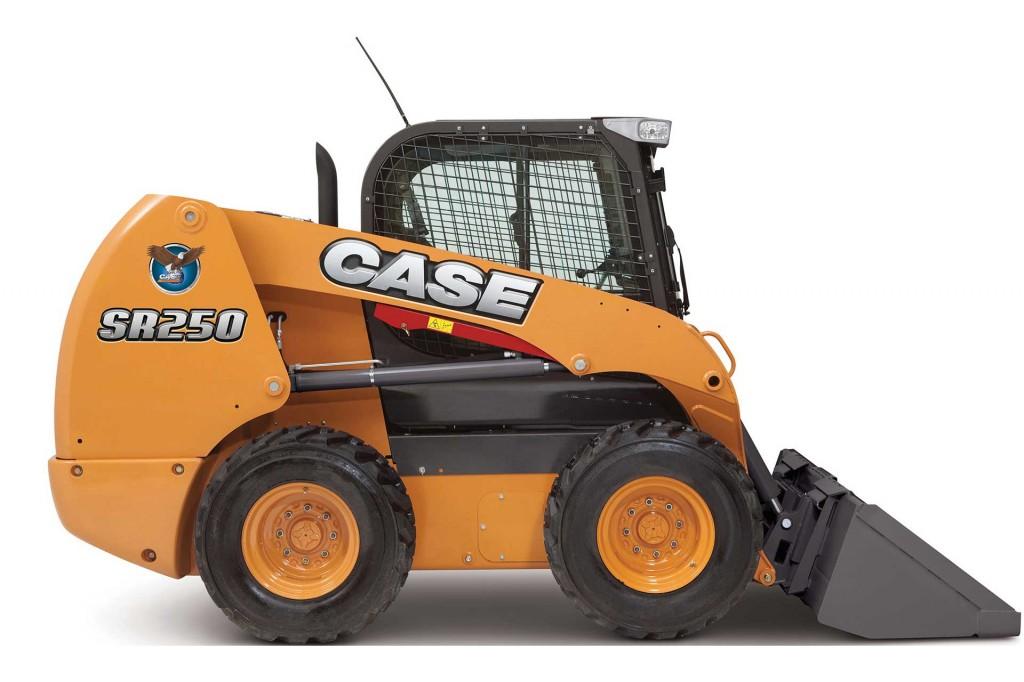 CASE Construction Equipment - SR250 Skid-Steer Loaders