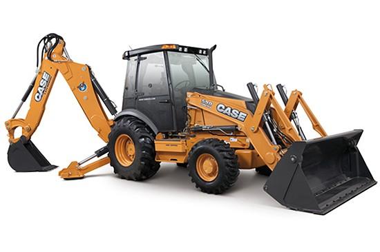 Case Construction Equipment - 590 SUPER N Backhoe Loaders