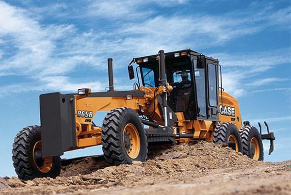 CASE Construction Equipment - 865B Motor Graders
