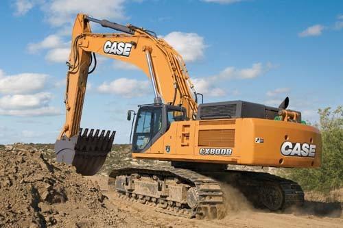 CASE Construction Equipment - CX800B Excavators