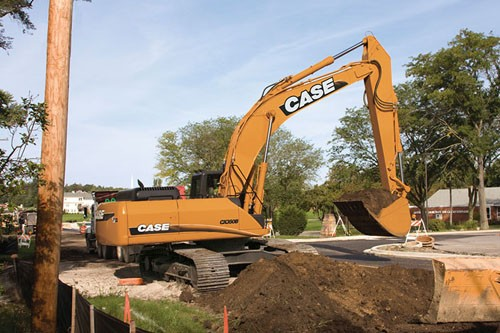 Case Construction Equipment - CX350B Excavators