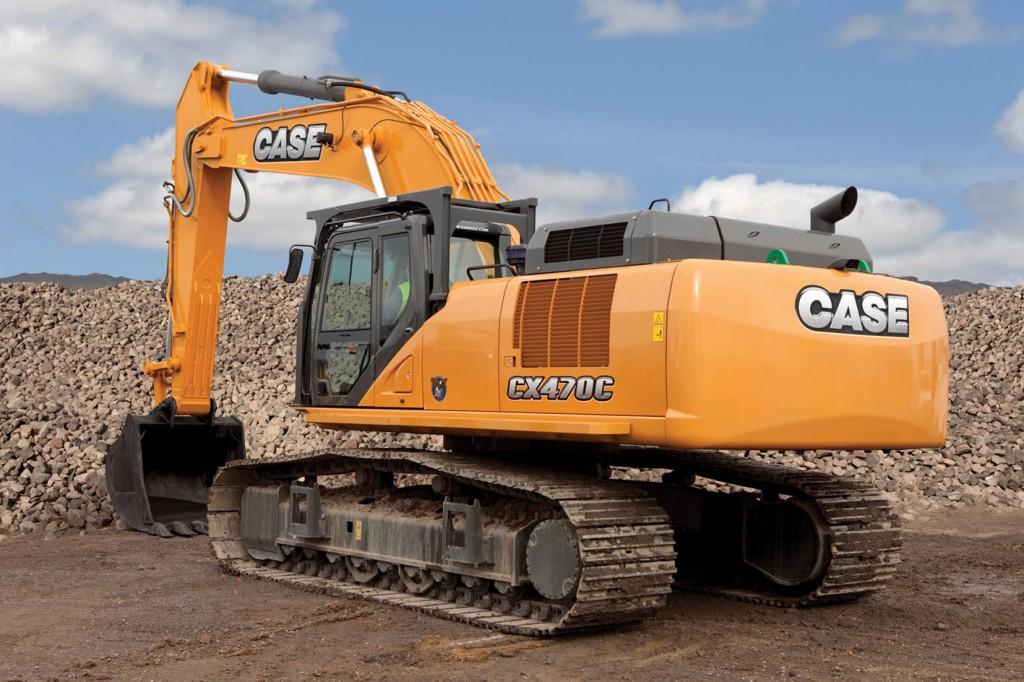CASE Construction Equipment - CX470B Excavators