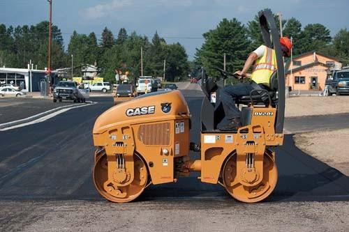 CASE Construction Equipment - DV201 Tandem Asphalt Rollers