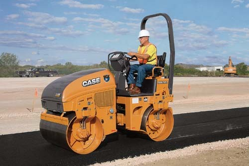 CASE Construction Equipment - DV202 Tandem Asphalt Rollers