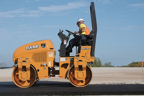 CASE Construction Equipment - DV204 Tandem Asphalt Rollers