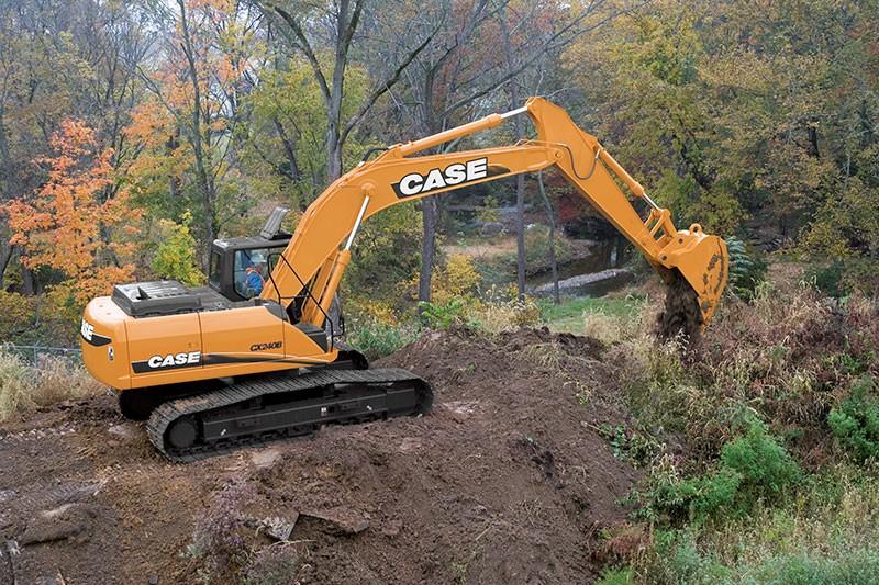 Case Construction Equipment - CX240B Excavators