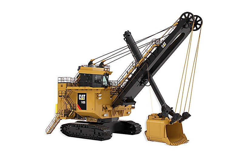 Caterpillar Inc. - 7495 With Hydracrowd Mining Shovels