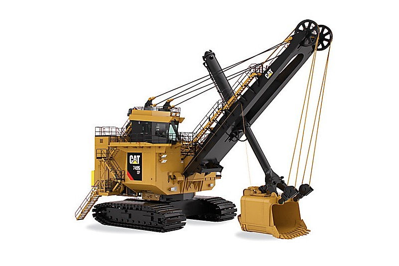 Caterpillar Inc. - 7495 HF With Hydracrowd Mining Shovels