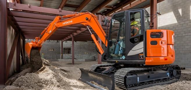 Hitachi Construction Machinery Corporation - ZX85USB-5 Excavators