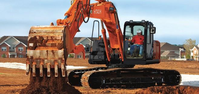 Hitachi Construction Machinery Co. - ZX210LC-5 & ZX210-5 Excavators