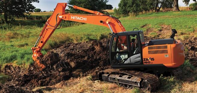 Hitachi Construction Machinery Corporation - ZX160LC-5 Excavators