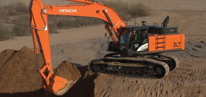 Hitachi Construction Machinery Corporation - ZX470LC-5 Excavators