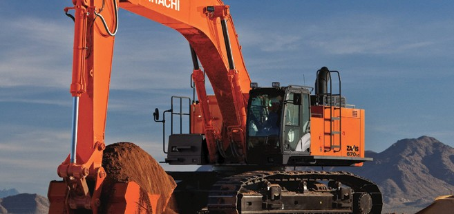 Hitachi Construction Machinery Corporation - ZX670LC-5 Excavators