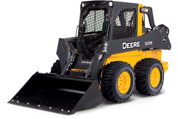 John Deere Construction & Forestry - 320E Skid-Steer Loaders