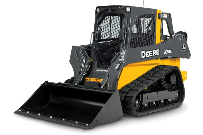 John Deere Construction & Forestry - 323E Compact Track Loaders