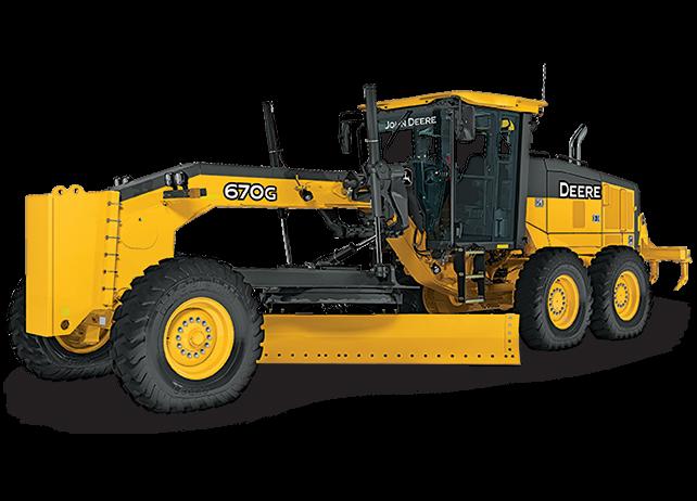 John Deere Construction & Forestry - 670G/GP Motor Graders