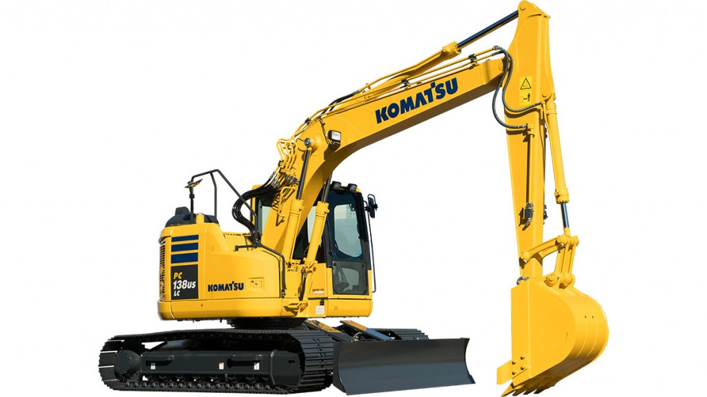 Komatsu America Corp. - PC138USLC-11 Excavators