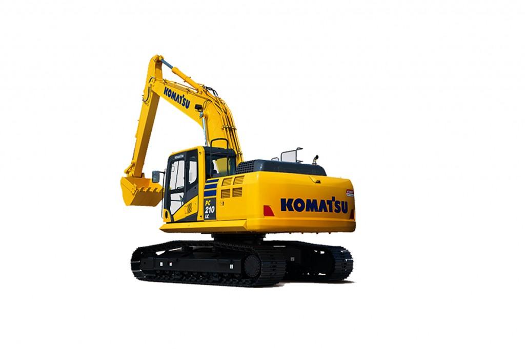Komatsu America Corp. - PC210LC-10 Excavators