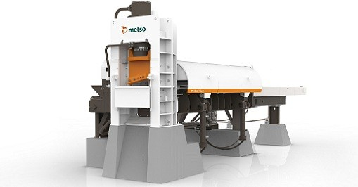 Metso - Metso EcoCut scrap shear Shredders