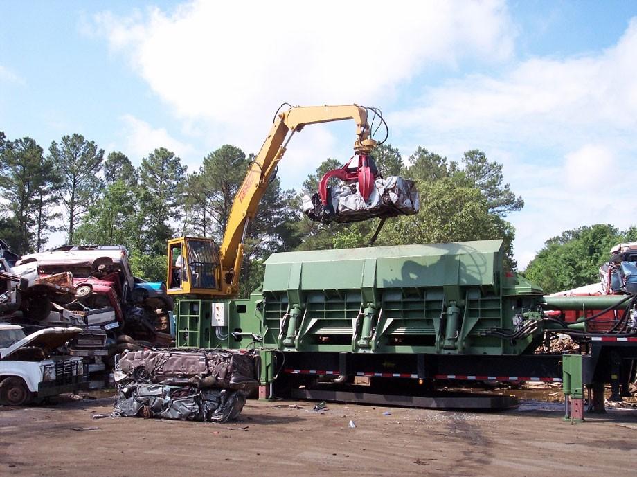Sierra International Machinery - Sierra RB6000 Car Logger Balers