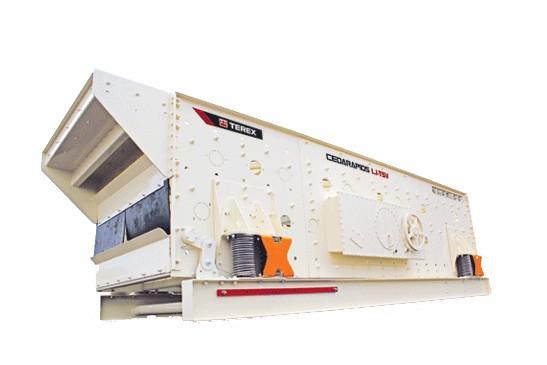 "Terex Minerals Processing Systems - Cedarapids LJ-TS ""V"" Series Stationary Screens"