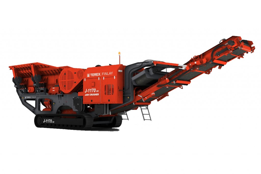 Terex Finlay - J-1170 Track Mounted Jaw Crushers