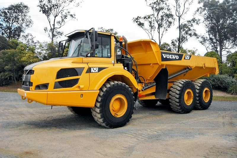 Volvo Construction Equipment - Volvo A25F Articulated Dump Trucks