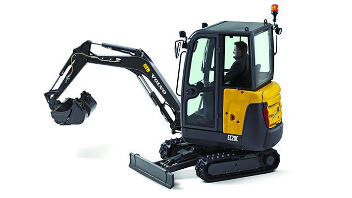 Volvo Construction Equipment - EC20C Excavators