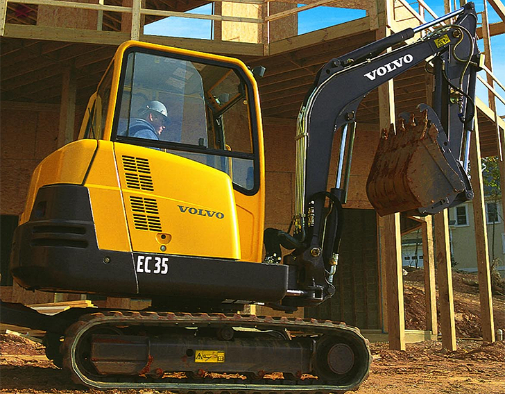 Volvo Construction Equipment - EC35C Excavators