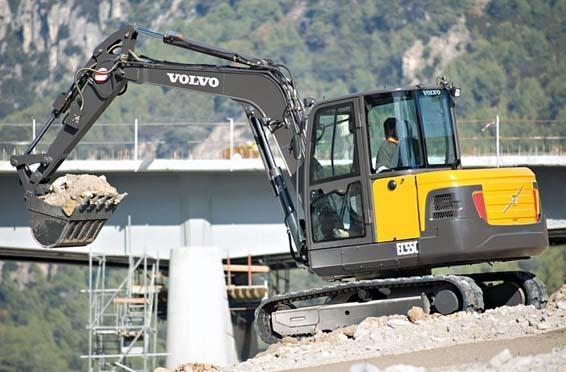 Volvo Construction Equipment - EC55C Excavators