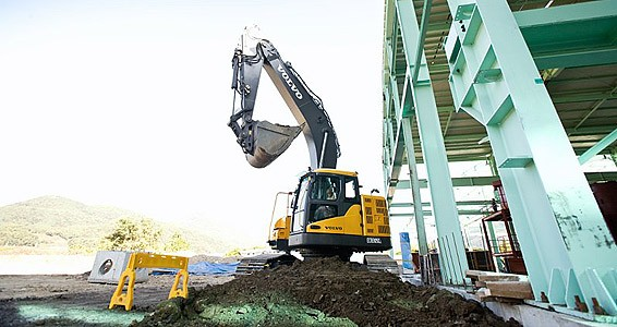 Volvo Construction Equipment - ECR305C Excavator Excavators